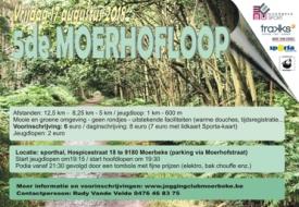 Flyer Moerhofloop , meer sfeerfoto's parcours op website