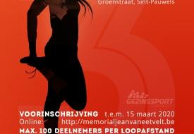 Memorial Jean Van Eetvelt Ladies run jogging