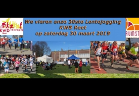 30ste lentejogging KWB Reet