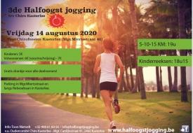 Halfoogst jogging 2020 te Kasterlee
