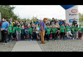Park Spoor Noord Stratenloop Kids run klaar voor vertrek