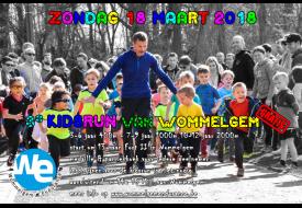 flyer kidsrun van Wommelgem 2018