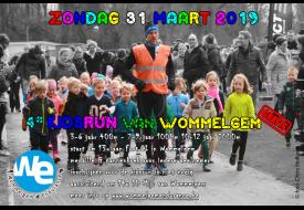 flyer kidsrun van Wommelgem 2019